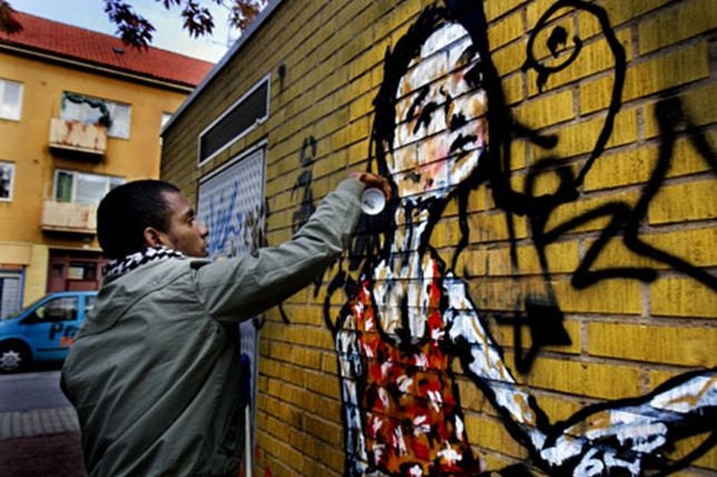 Graffiti ska liva upp Seved