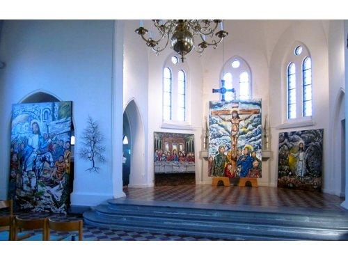 Graffiteiro baiano leva arte das ruas para Igreja na Suécia
