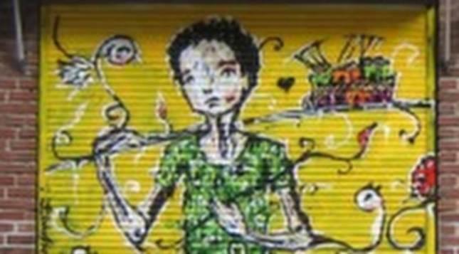 Graffiti-flickans  skapare avslöjad